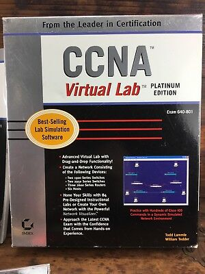 Ccna Virtual Lab Platinum Edition (640-801) Lab Simiulation Software Cisco Ed 2
