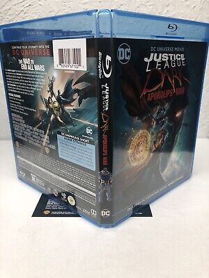 Justice League Dark Apokolips War Blu Ray + Digital HD (NO DVD INCLUDED) Read 3