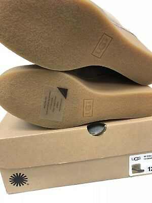 a468319b128 UGG AUSTRALIA COLDIN Wedge Ankle Bootie 1018648 Exposed Shearling Boot Mouse
