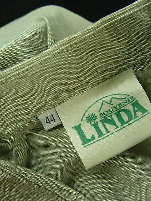 Gr.XL LINDA hellgrün mit Trachten Stickerei Baumwolle Trachtenhemd Hemd TH478 3