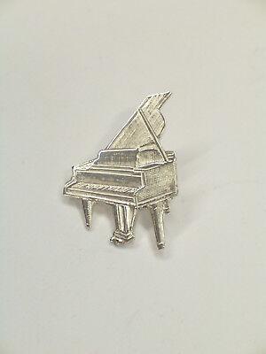 SPILLA da giacca (PINS) con PIANOFORTE in Argento 925 - musica - 3