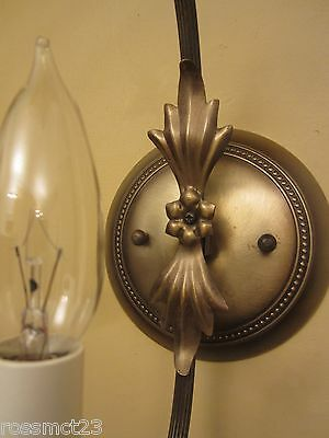 Vintage Lighting two matching 1960s Hollywood Regency sconces 2