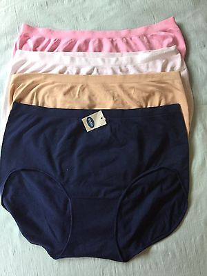 1fc340ac65d0 ... 8 ELLEN TRACY SUPER Soft stretch Women's underwear plus Size 8-28,Nylon  Spandex