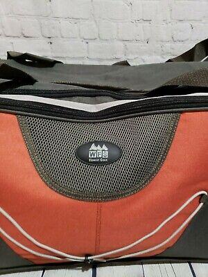 WFS Travel Bag Olive/Red Brick 3
