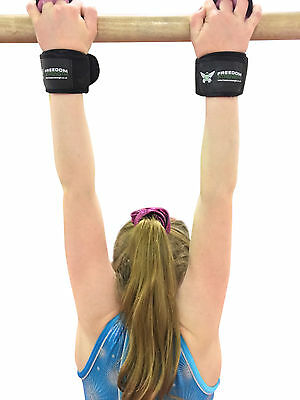 Freedomstrength® CHILDREN'S Gymnastic Palm protector Guards Padded Wrist Strap