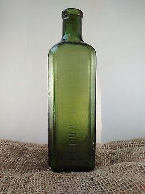 "Alte Apothekerflasche ""HAEMATICUM=GLAUSCH"" / old pharmacy bottle 3"