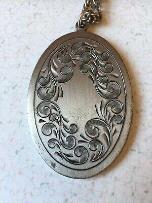 Vintage Pewter Necklace 4
