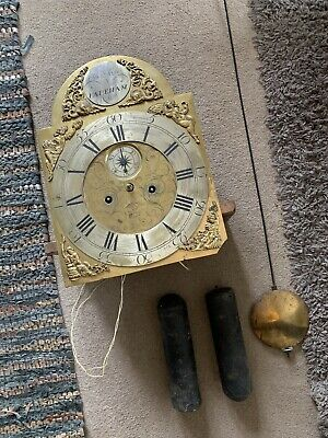 Longcase Clock Early 19th Century 8