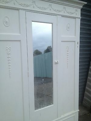 Victorian Fitted Wardrobe Fascade Mirrored Door Matching Fireplace Available 6