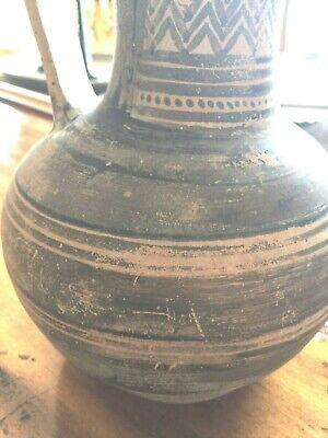 Ancient Greek Pottery Pitcher Attic Geometric  Pattern c 950 BC Oinochoe 6