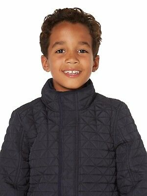 Howick Junior Boys Quilted Pocket Coat Jacket 5-6 Years BNWT RRP £43.95 Navy 2