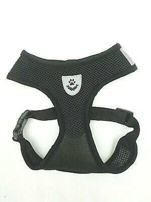 Pet Control SMALL Dog Harness Soft DOUBLE Mesh Walk Collar Safety Strap Vest XS 6