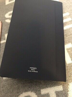 100% Authentic Hermès Beige Pink Agenda Planner Checkbook Made In France 7