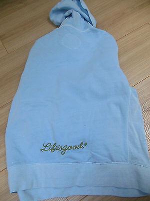Girl Good Kids cool hoodie size 12 y hoody peace blue NEW 5