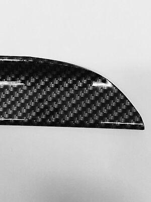BMW E90 Carbon Fiber 3-Series 4D Saloon Boot Lip Spoiler Wing 2005-11 UK SELLER 4