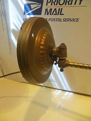Antique  Brass Wall Light Sconce Light Fixture Gas 11