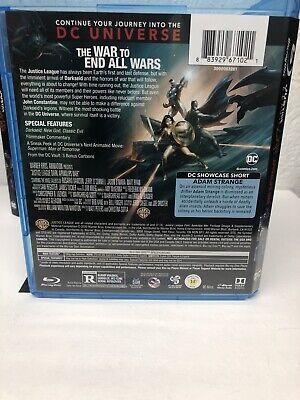 Justice League Dark Apokolips War Blu Ray + Digital HD (NO DVD INCLUDED) Read 4