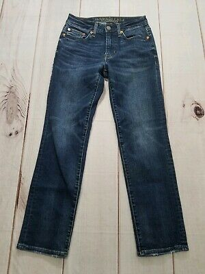 American Eagle Outfitters Extreme Flex Slim Straight Juniors Boys Size 26x26 2