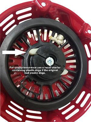 Pull Start Starter Recoil Type B For Honda Gx120 Gx160 Gx200 5.5 6.5Hp Generator