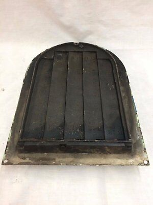 Antique Cast Iron Arch Top Dome Heat Grate Wall Register Black 2069-16 6