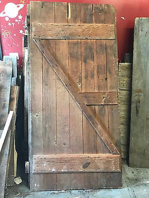 """Antique Barn Wood Door 79 1/2"""" x 37 7/16"""""""