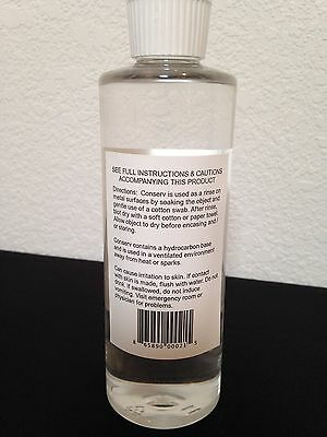 US Silver Coin Cleaning Fluid Remove Green Tarnish Luster Restore Silverware