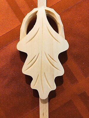 Cuckoo Clock Parts- New Hand Carved Large Leaf Pendulum (28) 4