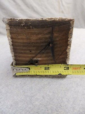 1 Antique Turned Wood Spindle Porch Baluster Thick Old Vtg Architectural 539-17R 6