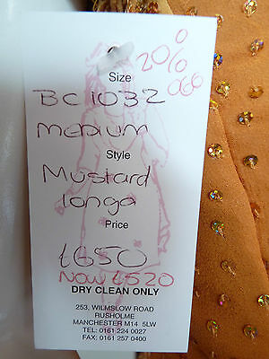 Asian Wedding Burnt Orange Embellished Lengha & Dupatta    (M)  Uk 10 £650  Bnwt 10