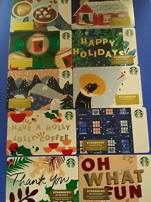 "Starbucks gift card 2019"" 36 CHRISTMAS GIFT CARDS "" MINT NO VALUE 36 Cards 🎅 4"