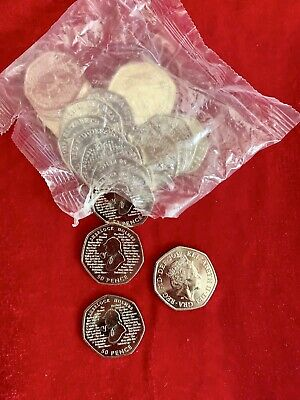 2019 Sherlock Holmes Fifty Pence Coin 50p Uncirculated From Seald Bag Royal Mint 2