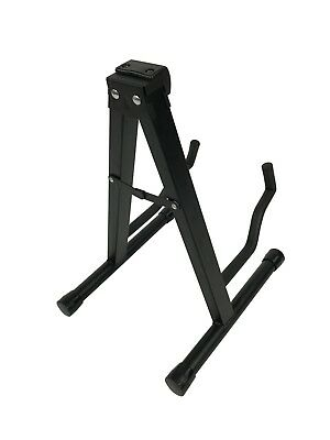 RayGar Folding Foldable A-Frame Music Guitar Floor Stand Electric Acoustic Bass 3