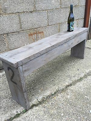 Rustic Up-Cycled Bench 2
