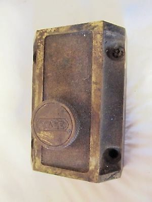 Vintage Brass YALE  Lock and Unique Knobless Finger Latch LQQK!!