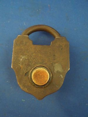 Antique S & Co Sargent & Company New Haven CT Padlock No Key 3