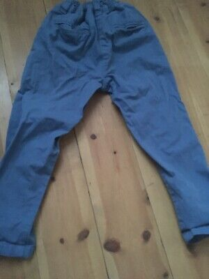 Girls 5 Years NEXT Blue Casual Trousers - Holiday / Summer 4