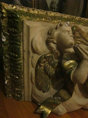 Antique Architectural Plaster Putti/cherubs Corbel/Shelve/freeze Church element 6