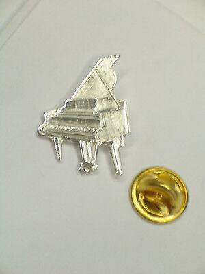 SPILLA da giacca (PINS) con PIANOFORTE in Argento 925 - musica - 7
