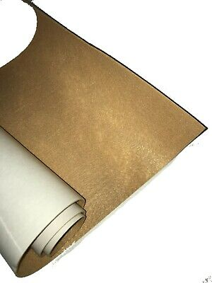 "JUMBO 12/"" X 10 FEET ROLL 1//16/"" THICK TAN COLOR SELF ADHESIVE PROTECTIVE Felt"