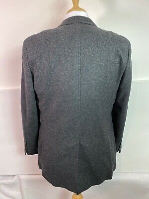 Brooks Brothers Gray wool cashmere Two Button Sport Coat Size 44R Fitzgerald cut 5