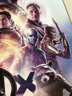 *Ultra Rare* Avengers End Game | original DS one sheet movie poster 27x40 IMAX 7