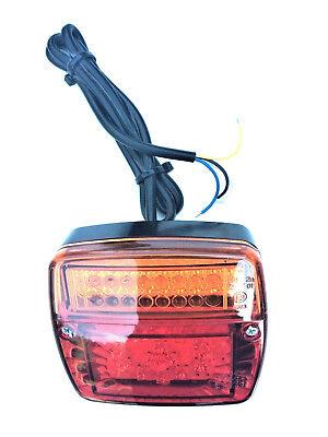 Rot//Gelb 43.5cm LED Kfz Lkw Bremsleuchte Blinker Sequentiell LAUFEFFEKT Lampe 1x