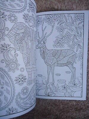 MIND RELAXATION - ADULTS COLOURING BOOK - BIRDS or ANIMALS - ANTI-STRESS 3