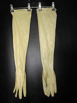 1 P,sterile Latexhandschuhe,Gloves,LatexGants,Gummihandschuhe,60 cm lang,M-7,5