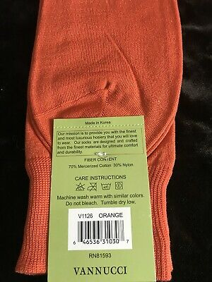 Men's Formal Socks by Vannucci NEW Variety of colors 11