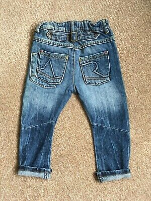 Angel & Rocket Distressed Denim Blue Jeans, size 3 years. 4