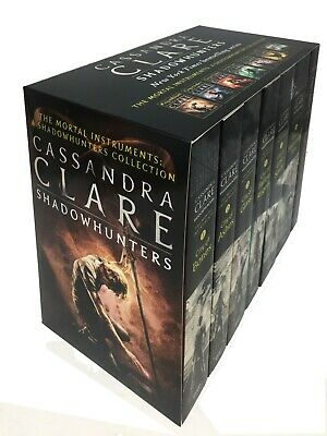 Cassandra Clare The Mortal Instruments A Shadowhunters 7 Books Collection Set 2