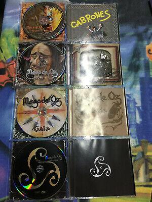 Mago De Oz Lote 4 Discos Cristal Como Nuevos Finisterra,Belfast,Gaia2,Gaia1 3