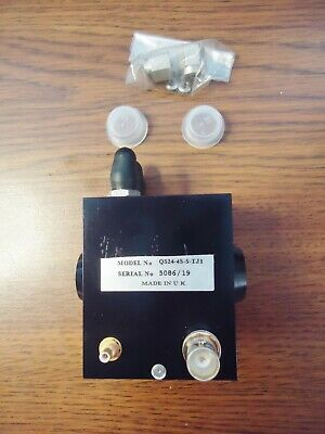New Quantronix Corp. Laser Module Switch,  Qs24-4S-S-Tj1 , 5086/19 Made In Uk 6