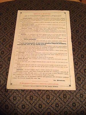 Unione Delle Fabbriche (Primavere Estate 1904) Napoli..Agenda Almanacco (Rare) 11